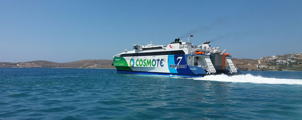 Hellenic Seaways Route Shedule & Timetable for Paros Island 2018